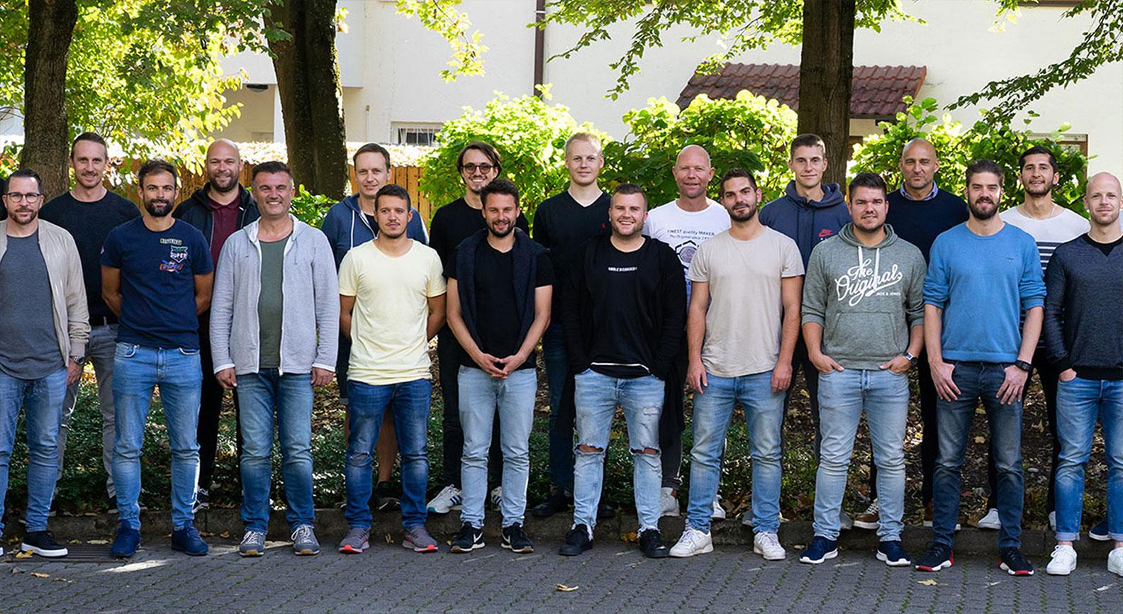 Gruppenfoto Studienabsolventen Spielanalyst