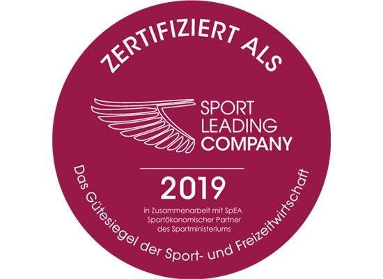 Zertifikat Sport Leading Company
